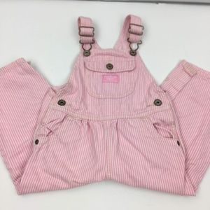 OshKosh B'gosh Kids Girl Pink Stripe Overall 24mos
